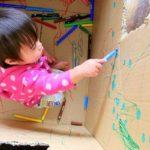 10 giochi per bambini con cartoni e scatoloni