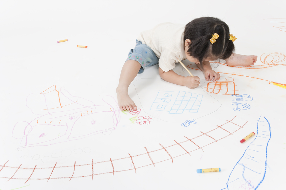 Scribble Drawing Definition : Itinerario nel disegno infantile