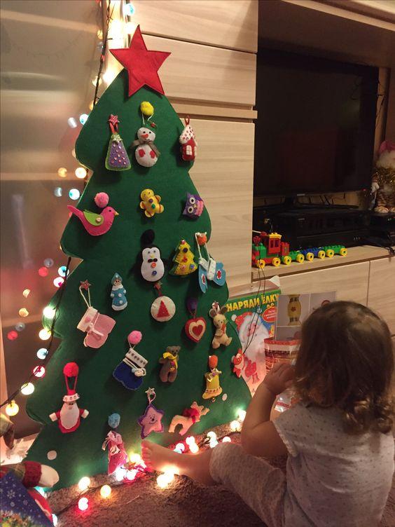 Albero Di Natale Per Bambini Piccoli.Come Realizzare L Albero Di Natale Montessoriano