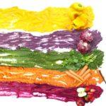 Colori naturali di frutta e verdura