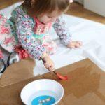 La magia della pittura con l'acqua