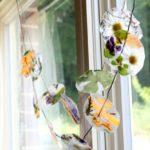 Aria di primavera: ghirlande di fiori