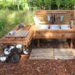 "Una ""mud kitchen"" in giardino"