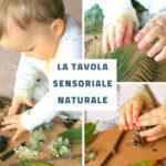 La tavola sensoriale naturale