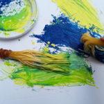 Dipingere con gli spaghetti alla maniera di Pollock