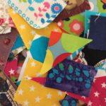 Laboratorio dell'incollaggio: effetto patchwork